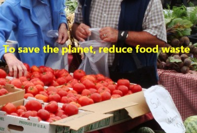 To save the planet, reduce food waste